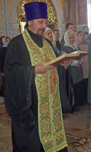 Протоиерей Виктор Карлинов - благочиный I благочинного округа.